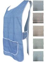 1 Ladies Dog-Tooth Tabard Tabbard Apron Work Overall / Anne / All Sizes