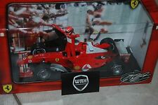 1/18 Ferrari F1 2004 Michael Schumacher World Champion Hotwheels  IN BOX 1/18