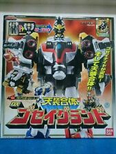 NEW Power Rangers Mega force DX GOSEI GROUND Megazord Goseiger BANDAI Japan OOP