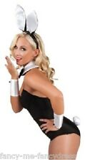 Ladies Sexy Bunny Girl Waitress Animal Fancy Dress Costume Outfit Accessory Kit