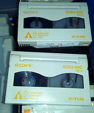 Lot of 49 SONY SDX2-50C 50GB/130GB AIT2 8MM DATA TAPES CARTRIDGES FREE SHIPMENT!