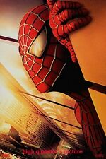 SPIDERMAN TWIN TOWERS movie Banner vinyl 27x40 poster wtc