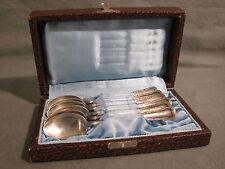 6x Kaffeelöffel 800er Silber BSF 13,1 cm