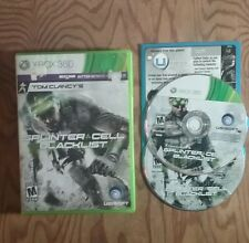 Tom Clancy's Splinter Cell: Blacklist (Microsoft Xbox 360, 2013) FAST SHIPPING!