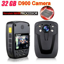 D900 Police Body Security Worn Camera 32GB DVR HD 1080P Hand Free Video Recorder