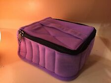 ESSENTIAL OIL CARRYING CASE....lavender...holds 30 Bottles...5ml Or 15ml