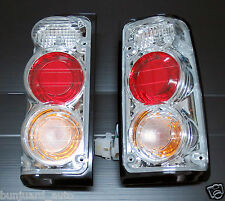 Chrome Clear Rear Light upgrade kit opel Vauxhall Frontera Isuzu TFR tail lamp