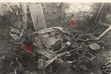 19126/ Originalfoto 9x13cm, Volltreffer Artilleriegeschütz