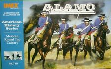 Imex 1/32 Alamo Mexican Round Top Cavalry Plastic Figures Set No. 718 New Boxed!