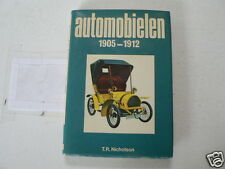 AUTOMOBIELEN 1905-1912 VINTAGE CARS OLDTIMERS AJAX,GERMAIN,WHITE,BENTALL.ADAMS,
