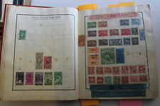 VINTAGE 1930 MODERN WORLDWIDE STAMP ALBUM WITH 3,130 MINT & USED STAMPS
