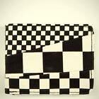Vans Off The Wall Slasher Wallet Mens Black White Checkered Bifold New NWT