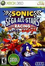 SONIC & SEGA ALL-STAR RACING XBOX 360 BRAND NEW FREE SHIPPING