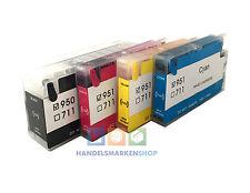 Wiederbefüllbare CISS Nachfüll Patronen Refill ersetzen HP 950 951 XL  + Tinte
