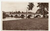 The English Bridge Shrewsbury RP Postcard, B112