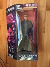 12 INCH T-850 TERMINATOR DELUXE FIGURE MCFARLANE WITH SOUND RISE OF THE MACHINES