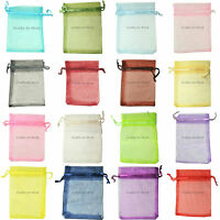 7x9cm ORGANZA Premium Wedding Favour GIFT BAGS | Pouches | Jewellery