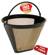 Cuisinart Filter - Permanent Gold Tone - Coffee Maker Basket Style Strainer New