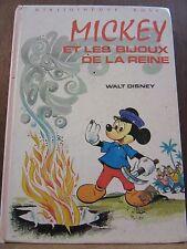 Walt Disney: Mickey et les Bijoux de la Reine / Bibliothèque Rose, 1978