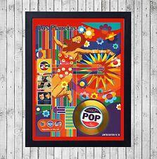 LOS PLANETAS POP CUADRO CON GOLD O PLATINUM CD EDICION LIMITADA. FRAMED