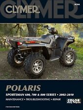 Clymer Repair Service Manual Polaris Sportsman 600,700,800 02,03,04,05,06,07-10