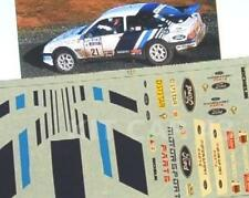 "DECAL CALCA 1/18 FORD SIERRA ""MOTORSPORT"" CARLOS SAINZ RALLY RAC 1988"