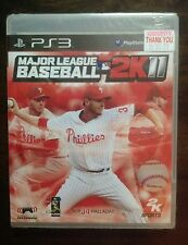 PS3 SPORT GAME MAJOR LEAGUE BASEBALL 2K11 PLAYSTATION 3 NEW