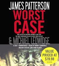 Worst Case Audio Book By James Patterson & Michael Ledwidge 6 CD's 2010