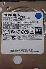 500GB Toshiba MQ01ABF050 | AM001U | 20 OCT 2014