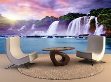 Banyue waterfall Giant Photo Wallpaper Wall Mural Background 3D