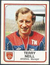 PANINI FOOTBALL 84-#014-ARSENAL-TERRY NEILL
