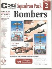 ::: GMT GAMES --- C3i Squadron Pack #2 - BOMBERS - DOWN IN FLAMES SERIES :::