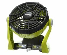 Ryobi 18 Volt ONE+ Dual Power Portable Fan Specialty Power Tools Shop Cordless