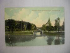 VINTAGE POSTCARD SCENE IN ROGER WILLIAMS PARK IN PROVIDENCE RHODE ISLAND 1913