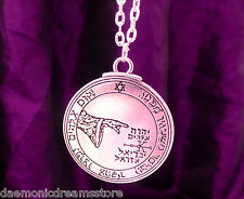 PENTACLE OF THE MOON TALISMAN CONSECRATED Occult Magic Magick Key of Solomon