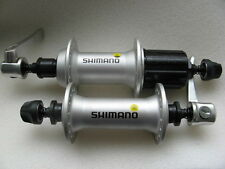 Buje par VR + HR moyeux concentradores 8/9 veces Shimano fh-m430/hb-m430 plata 32 agujeros