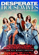 DESPERATE HOUSEWIVES COMPLETE SEASON 6 DVD Box Set Series New Sealed 6th Sixth