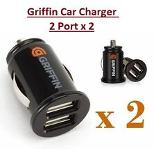 Griffin TwinDual Port 2 USB 12V Universal Car Socket Lighter Charger Adapter