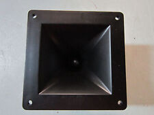 "NEW 4 x 4 Horn Tweeter Speaker.PA.DJ.Pro Audio.8.4"".Replacement Driver.Mid range"