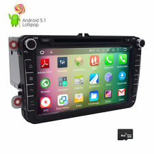 Car DVD GPS DVR DAB+ OBD TV 4-Core Android for VW Golf Sharan Passat CC Skoda