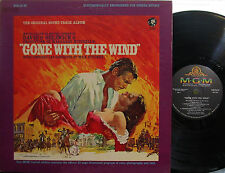 Gone with the Wind (Soundtrack) MGM (Stereo) Clark Gable, Vivian Leigh) booklet