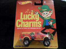 HW HOT WHEELS 2014 GENERAL MILLS LUCKY CHARMS FORD F-150 HOTWHEELS RED VHTF
