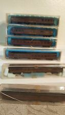 Set of 6 Atlas N scale Pennsylvania RR Passenger cars, dining,combine,roomate,et