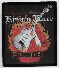 MALMSTEEN'S RISING FORCE PATCH / SPEED-THRASH-BLACK-DEATH METAL
