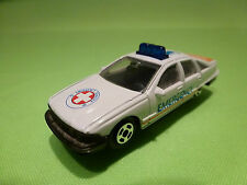 WELLY 8389 CHEVROLET CAPRICE - AMBULANCE EMERGENCY - 1:60? - RARE SELTEN - GOOD