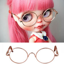 [wamami] Gold Round Doll Glasses For Neo Blythe Doll Free Shipping