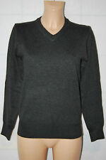 BROTHER F Pullover Pulli XS  Strickpullover STRETCH Wolle 79,-  Anthrazit D-1661