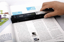 Portable Scanner Wireless Mini A4 Color Photo Document LCD Scanner micro SD Card