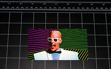 Max Headroom 80's retro style tv show vinyl decal / sticker 1980's pop culture