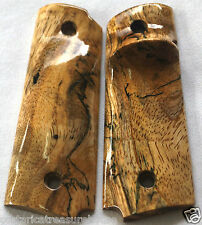 1911 TARGET GRIPS 4 FULL SIZE & Springfield LEFT HND SPALTED MANGO F-67 NICE!!!